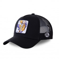 Casquette trucker Capslab Dragon Ball Z Noir