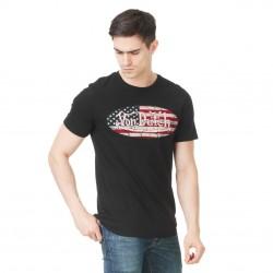 T-shirt Homme Von Dutch MC Imprimé Noir