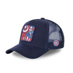Casquette Capslab Marvel Captain America Bleu