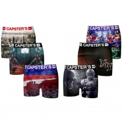 Boxers Homme Capster Lot x 6