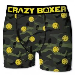 Boxer  Homme En Microfibre, Crazy Boxer