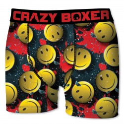 Boxers Homme Boxer  Homme En Microfibre, Crazy Box