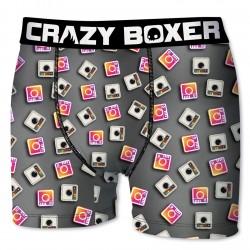 Boxer Homme Instagram CRAZY BOXER
