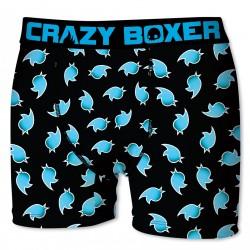 Boxer Homme Twitter CRAZY BOXER