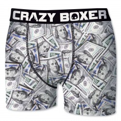 Boxer Homme Dollars CRAZY BOXER