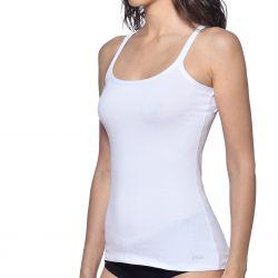Debardeur coton femme Fila 6060 Blanc