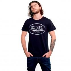 T-shirt Von Dutch homme Aaron A Noir