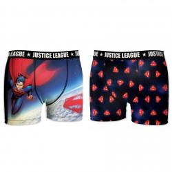 Lot de 2 Boxers Garçon Justice League