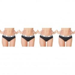 Lot de 4 culottes femme en coton FU6064