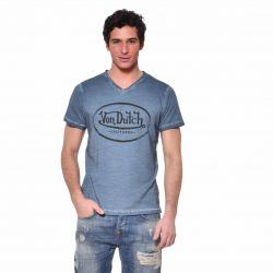 T-shirt Slim Fit Col V homme Ron