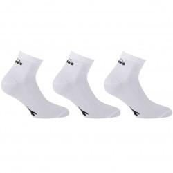 Lot de 3 paires de Lowcuts Diadora Blanc