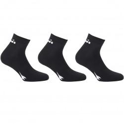 Lot de 3 paires de Lowcuts Diadora Noir