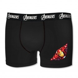 Boxer coton garçon Iron Man