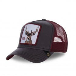 Casquette Baseball Goorin Bros Fever Marron et Rouge