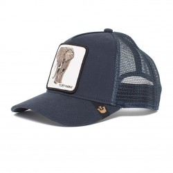 Casquette Baseball Goorin Bros Elephant Bleu