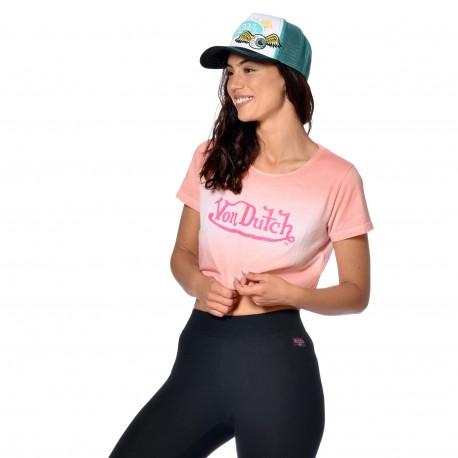 T-shirt crop top femme calie