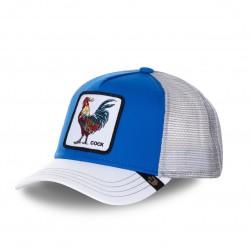 Casquette Baseball Goorin Bros Cock Bleu et Blanc