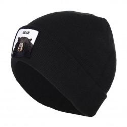 Bonnet Goorin Bros Patch Bear Noir