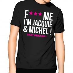 T-shirt Homme Jacquie et Michel Fuck