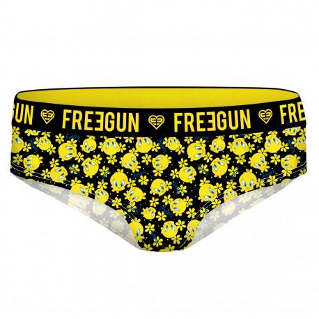 Boxer fille Miss Freegun Tweety noir