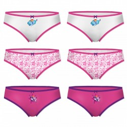Lot de 6 culottes fille My Little Poney