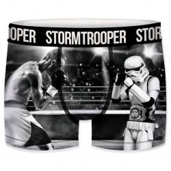 Boxer Homme Stormtrooper Ring Noir