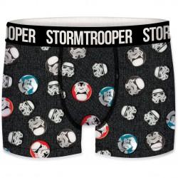 Boxer Homme Stormtrooper Badges Noir