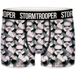 Boxer Homme Stormtrooper Army Blanc