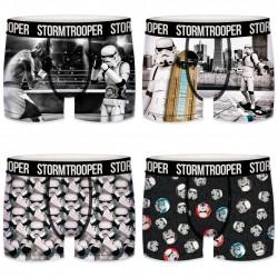 Lot de 4 boxers Garçon Stormtrooper City Multicolore