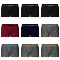 Lot de 9 boxers sans couture Umbro