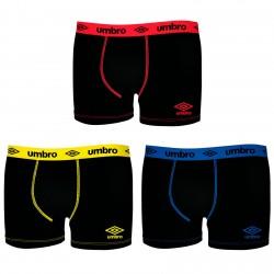 Lot De 3 Boxers Homme Umbro Coton