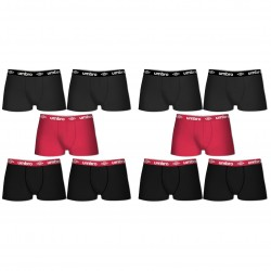 Lot de 10 boxers coton Unis Umbro