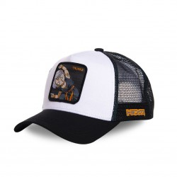 Casquette Capslab Dragon Ball Z Trunks Blanc et Noir