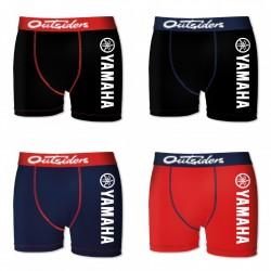 Lot de 4 Boxers Homme Yamaha