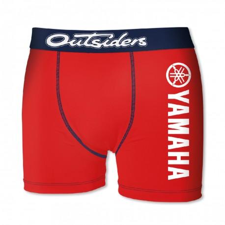 Boxer Homme Yamaha Rouge