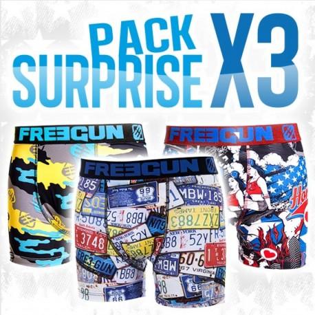 boyz bébé pack surprise x3