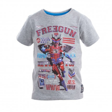 Tee Shirt Boyz Babyz Imprimé Rouge Freegun.