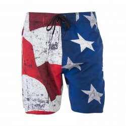 Boardshort Long Freegun Flag Boyz