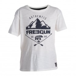 T-shirt Boyz Freegun, Mountain Blanc