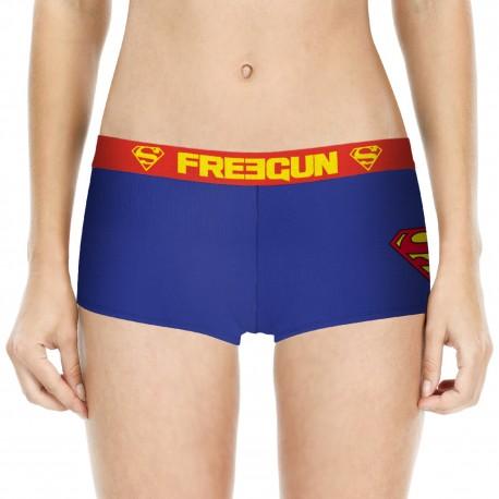 SHORTY FILLE COTON SUPERMAN