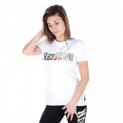 T-shirt manches courtes Femme Uni