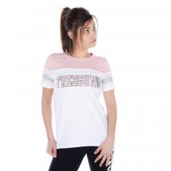 T-shirt manches courtes Femme Tricolore