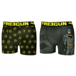 Lot de 2 Boxers Homme Batman Freegun