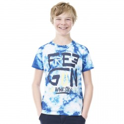 T-Shirt Garçon FREEGUN Tie and Dye