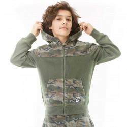 Sweat Zippé Garçon FREEGUN Camouflage