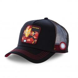 Casquette Capslab Marvel Iron Man Noir