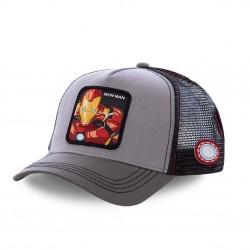 Casquette Capslab Marvel Iron Man Gris