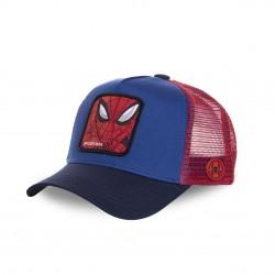 Casquette Capslab Marvel Spider-Man Bleu filet Rouge