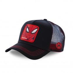 Casquette filet Capslab Marvel Spider-Man Noir