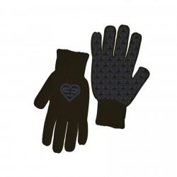 Paire de gants Fille LOGO Violet FREEGUN